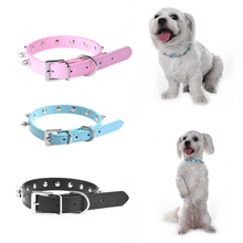 High-Quality PU Plain Material PU Pet Collar Prevent Pet Important Parts Were Bitten Studded Dog Collar durable(China)