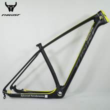Buy THRUST mtb Carbon Frame 29er 27.5 15 17 19 inch New Arrivals Yellow 2017 T1000 Carbon Bike Frame mtb Chinese Carbon Frames 29er for $252.30 in AliExpress store