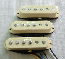 Free Shipping High Output vintage 60's style Alnico V rod staggered single coil guitar pickup