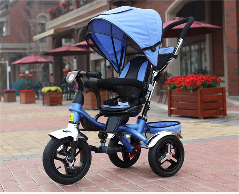 2017 kids Tricycle Pram 3 wheel Baby Stroller Child Three Wheels Carriage Baby Buggy Bike Bicycle For 6 Month to 6 Years Old13