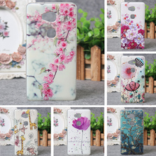 For Huawei Honor 5X Case 3D Relief Printing Cover TPU Case for Huawei honor 5x Silicon Back Protector Fashion Phone Cases Shell
