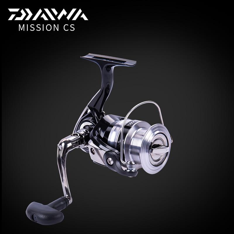 DAIWA Original MISSION CS 2017 NEW MODEL Spinning fishing reel 2000S 2500S 3000S 4000S 2+1Ball bearing DIGI GEAR II TWIST BUSTER<br>