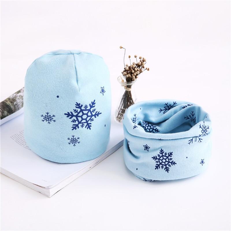 snow light blue set