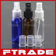 Wholesale 100pcs 30ml Mini Portable Spray Bottle Empty Cosmetic Perfume Container With Atomizer Nozzle Small Sample Vials