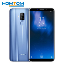 HOMTOM S8 5.7 inch 4G Android 7.0 Smartphone MTK6750T Octa Core 4GB RAM 64GB ROM 16MP+5MP Dual Back Camera HD OTA OTG Cell Phone(China)