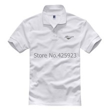 wholesale summer Personality Ford Mustang coupe cotton short-sleeved POLO Shirt 3 colours POLOs