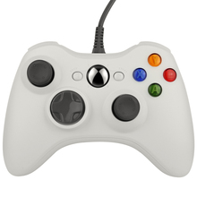 1 PCs Gamepad USB Wired Joypad Controller For Microsoft for Xbox 360 for PC for Windows7 Black Color Joystick Game Controller(China)