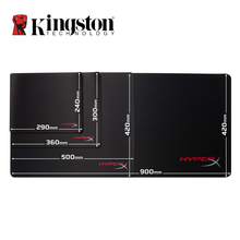 Kingston Hyperx Fury Pro Gaming Mouse Pad S M L XL Natural Rubble(China)