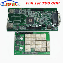 A + Quality TCS CDP Pro  without bluetooth 2015.1 Newest Support More 2015 Car Models diagnostic-tool CDP PRO For Cars & Trucks
