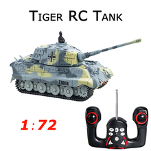 Great Wall 2203 1:72 Scale 4CH Mini RC Tank Radio Remote Control Simulation Tanks Model Toy Kids Christmas Gift