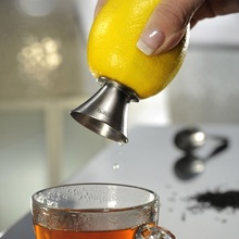 Stainless Steel Manual Lemon Squeezer Citrus Orange Juice Hand Juicer Screw Press Fresh Squeezed Lime Fruit Vegetable Tools(China)