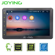 "Joying Android 6.0 GPS Navigation Universal Single 1 DIN 8"" Car Radio Stereo Quad Core Head Unit Support Steering Wheel Camera"