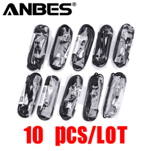 ANBES 10 pieces/lot 3.5mm In-ear Headphones For S6 Earphone With Microphone For MP3 4 Samsung Galaxy S8 S7 S6 Edge Xiaomi Iphone