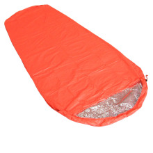 Orange Ultra-light Portable Mummy Outdoor Splicing Single Sleeping Bag Camping Travelling Hiking Bag Sleeping Bag 210*82cm(China)