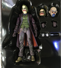 NEW Play Arts Kai The Dark Knight Rises JOKER PVC Action Figure 27cm With Box