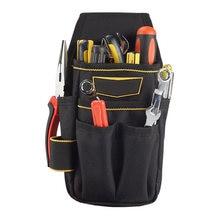 1 unid bolsa de herramientas de electricista cintura bolsillo con bolsa  cinturón soporte de almacenamiento de herramientas Herra. 88edefe25347
