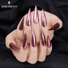 Rose Gold Mirror Nail Glitter Powder Gel Polish Chrome Pigment Dust Shinning Glitters Manicure Nail Art Decorations(China)