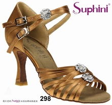 Free Shipping 2017 Suphini High Cost Performance Latin Shoes, Hot sale Dance Shoe, High Heel Lady Salsa Dance Shoes