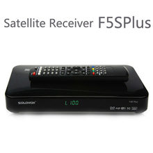 10PCS Original solovox-F5SPlus Satellite Receiver/ TV Box Support 2 USB WEB TV Card Sharing 3G modem(China)
