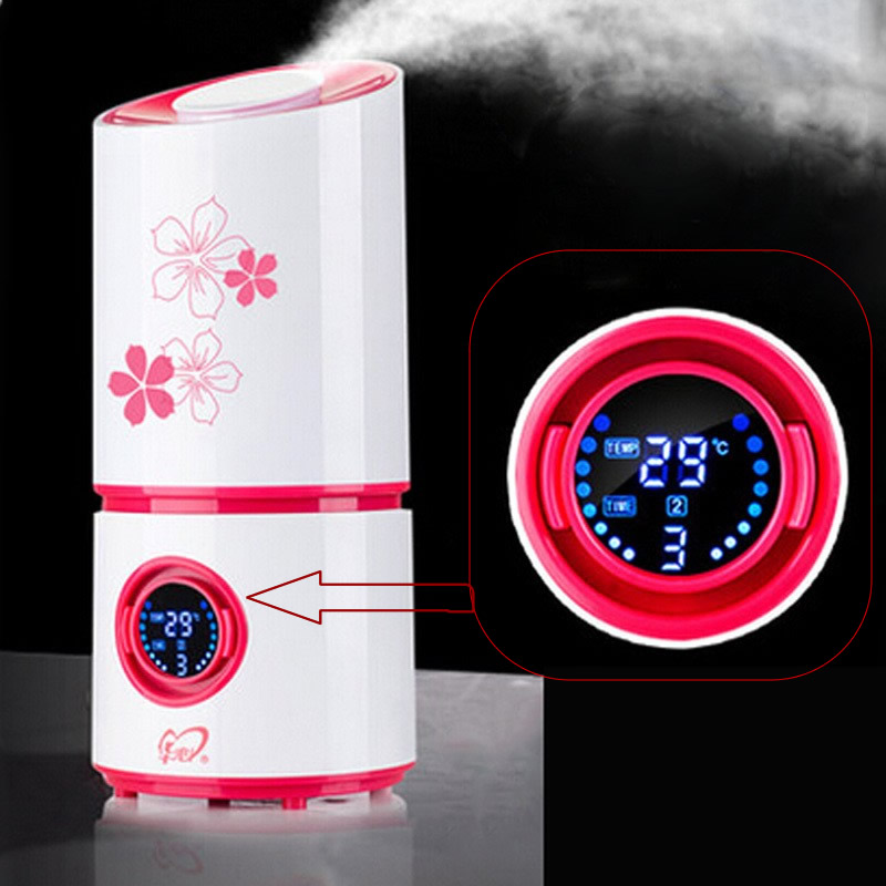 Aroma Diffuser Nebulizer Ultrasonic Humidifier Mute Home Air Humidifier Mini Ultrasonic Sterilization Oxygen Bar Aromatherapy<br>