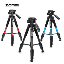Hot Zomei Q111 Professional 56 inch Lightweight Anniversary Camera Video Aluminum Tripod with Bag For Canon Nikon DSLR Camera(China)
