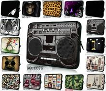 "Sunflower Many Design Neoprene Sleeve Bag Case Cover Pouch Protector For 7"" Ainol NOVO 7 Tablet PC MID"