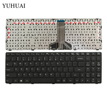 NEW Laptop Keyboard For Lenovo 100-15 IBD 100-15IBD 100-15ibd US Laptop Keyboard black(China)