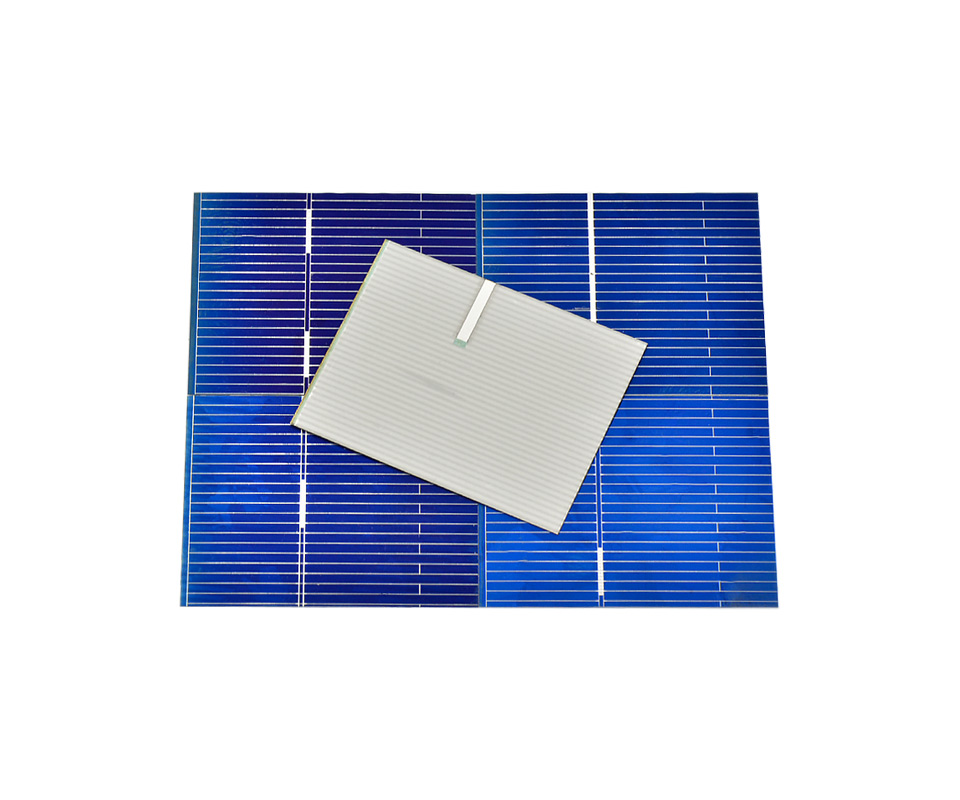 Aoshike 100pcs Polycrystalline Solar Panel 39*31.2mm 0.5V 0.2W Solar Battery Silicon DIY Solar Charger Battery Painel Solar 7