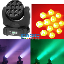 (Pack of 4) 140W LED Beam Moving Head Light 12x10W RGBW DMX-512 14CH Led Wash DJ Disco Bar Club Stage Light Party Show EU US UK(China)