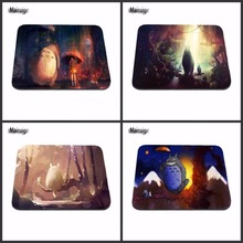 Mairuige New Anti-Slip PC My Neighbour Totoro Anime Umbrellas Silicon Mouse Pad Mat Mice Pad for Optical Free drop shipping(China)