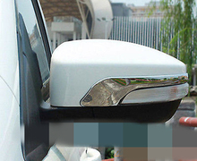 FIT FOR FORD ESCAPE KUGA CHROME DOOR SIDE MIRROR MOLDING COVER GARNISH TRIM 2013 2014