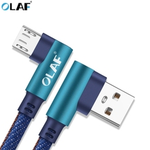 Micro USB Cable, OLAF Nylon Braided Fast Charging Mobile Phone USB Charger Cable Samsung/xiaomi/LG/Huawei/Meizu Cable Cord