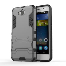Y6Pro Case Heavy Duty Armor Case For Huawei Enjoy 5/ Y6 Pro/Holly 2 Plus Phone Cover Kickstand Hard Plastic + Silicon combo Case