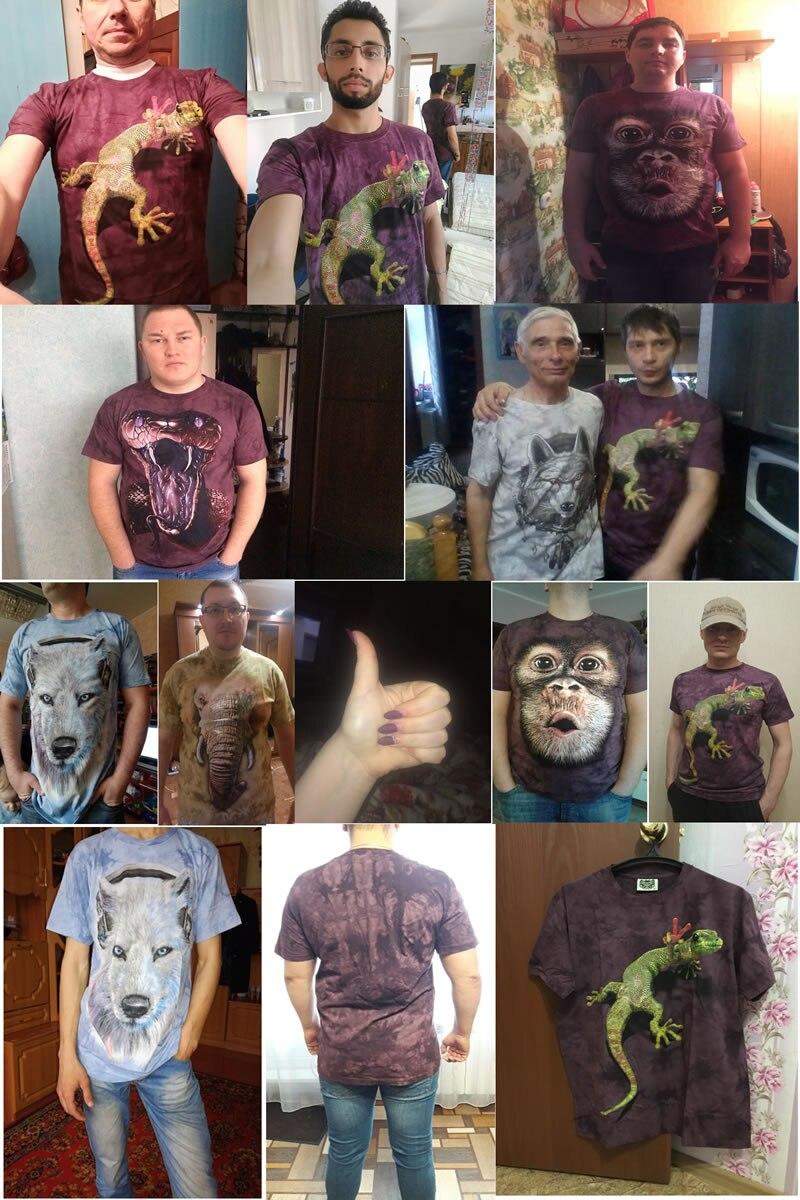 HTB1MyR9RXXXXXXHapXXq6xXFXXXc - 2017 Men 3D T Shirt Animal Short Sleeves Cotton O-Neck Tiedye Personalized T-Shirt Water Printed Tee Shirts T-Shirts Clothes A8
