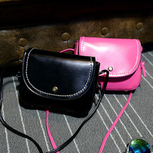 50% DISCOUNT OFF 2015 brief vintage one shoulder small bag thick thread women's handbag candy color messenger bag