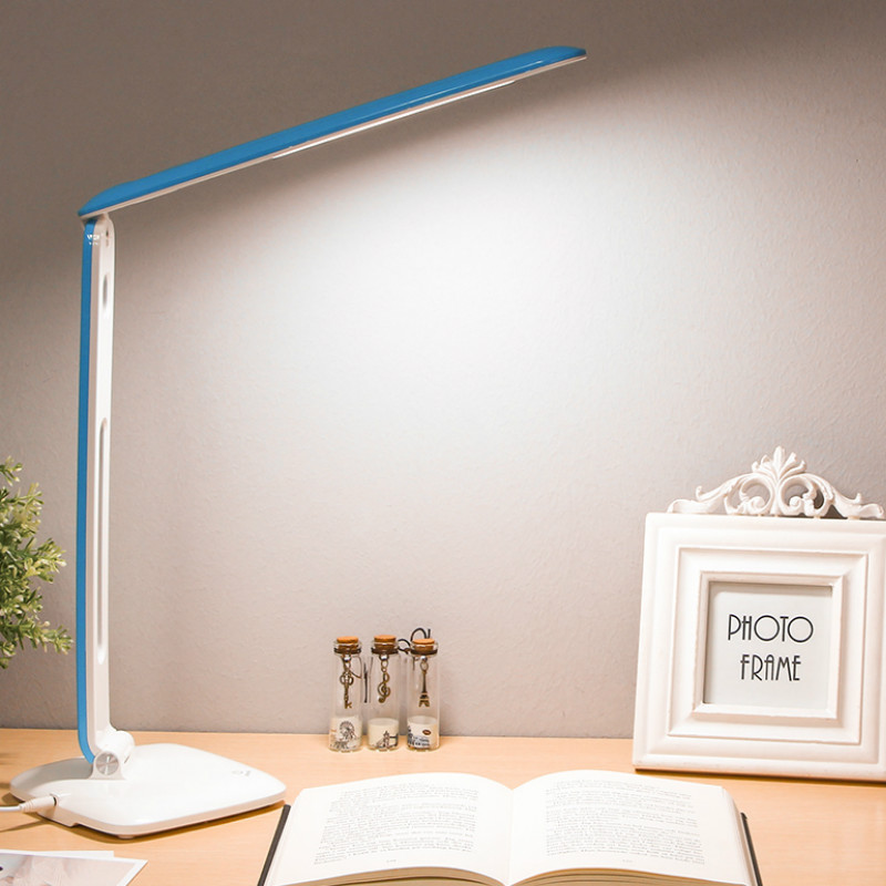 YAGE 5940 LED Desk Lamp DC 12V/500mAh Night light Non-Limit Brightness Touch adjusted flexibly Table light EU/USA/UK Plug<br>