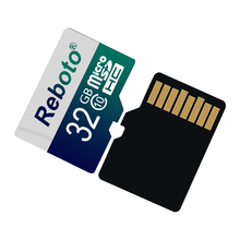 Reboto Memory card Micro SD card Memory cards 8GB 16GB 32GB 64GB class 10 Microsd TF card Pen drive 4GB Flash drive(China)