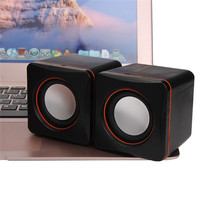 High-Quality Sound New Mini Portable USB Multimedia Computer Laptop Audio Sounder Speaker Free Shipping NOM01