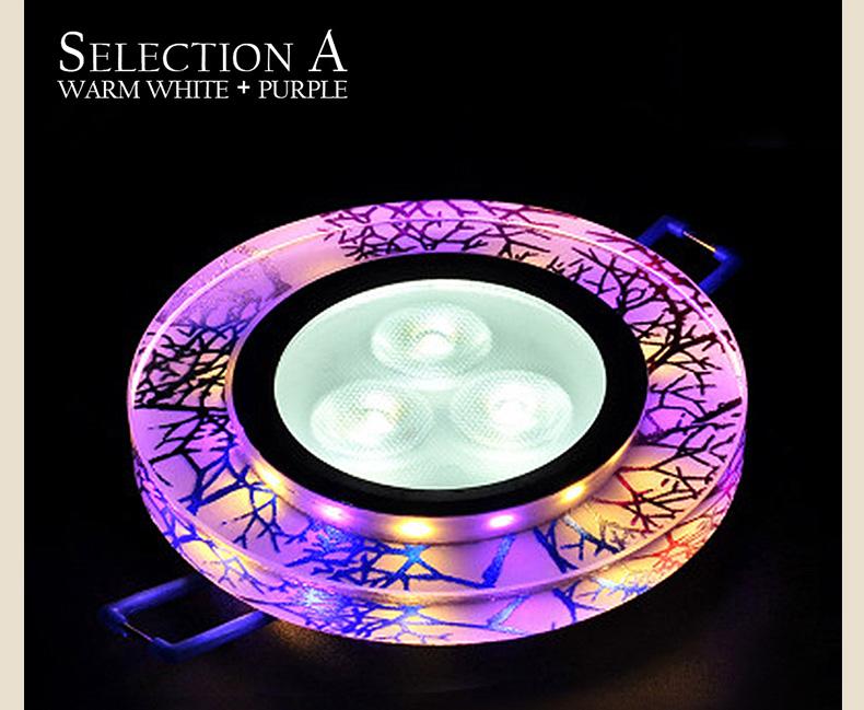 Super Bright Recessed Plafonnier Led lamp Downlight COB Decoration Led spot Panel Ceiling Lamp light 110V 220V lamparas de tech