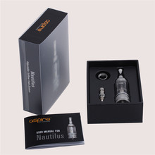 Original Aspire Nautilus Tank 5ML Clearomizer with BVC Coils Pyrex Glass Tank and Adjustable Airflow E Cigarette Atomizer
