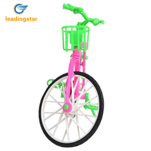 Leadingstar 1 New Green Plastic Detachable Bike Toys Bike With Basket For Barbie Pop Great Kids Gift zk30
