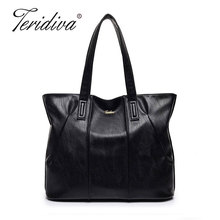 Teridiva 2017 Women's Handbags Shoulder Bag Bolsas Mujer Ladies Shopping Bag Women Leather Handbags Purse Tote Bags Large Size