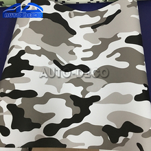 Matte Finished Camouflage Vinyl Car Wrap Scooter Motorcycle Bike Decal Sticker Camo Film with Air Bubble Free