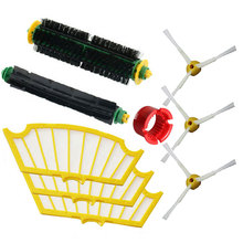 High Quality Brush set + Clean Tool +Filter for iRobot Roomba 500 Series 510 520 530 540 550 560 570 580 Vacuum Cleaner Parts(China)