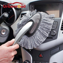 Multi-Functional Microfiber Car Duster Brush Cleaning Dust Mop Auto Cleaning Tools Product Free Shipping(China)