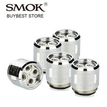 5pcs SMOK V8 Baby-T8 Octuple Core 0.15ohm Coil Head for SMOK TFV8 Baby / TF-V8 Big Baby Beast Tank Atomizer Supports 50W-110W
