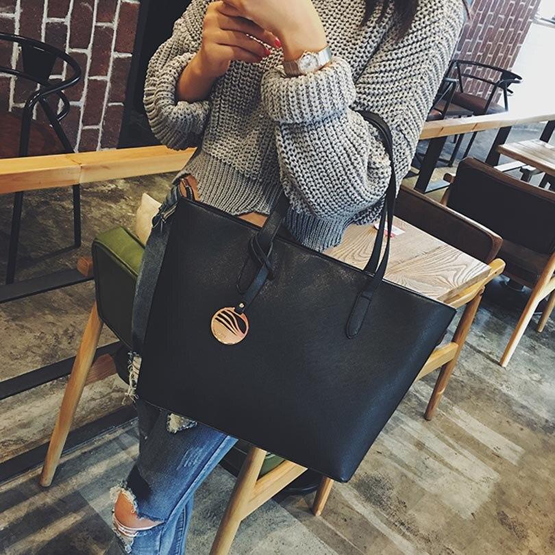 LIXUN Women Leather Sequined Shopper Tote Bag Ladies Handbags For Woman Designer Vintage Top-handle Shoulder Bags Bolsa Feminina<br><br>Aliexpress