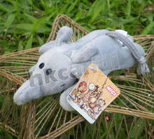 toys cute Plush toys Grey elephants best gifts for you Fridge Magnet(China)