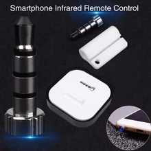 Buy relefree Infrared Smart 3.5mm Universal IR Remote Control iOS System Smartphone DVD Silver Professional Accessories for $4.43 in AliExpress store