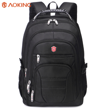Aoking Original Brand New Patent Design Massage Air Cushion1 Men's Laptop Backpack Men Large Capacity Nylon Comfort Backpacks(China)